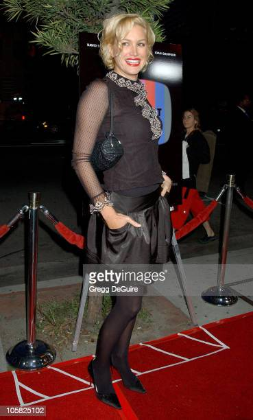 Alice Evans during ThinkFilm Presents the Premiere of 'The TV Set' at Crest Theater in Los Angeles CA United States