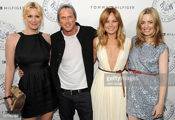 Alice Evans Jason Lewis Malin Akerman and Melissa George arrive for Tommy Hilfiger and Lisa Birnbach Celebration of Prep World on June 9 2011 in Los...