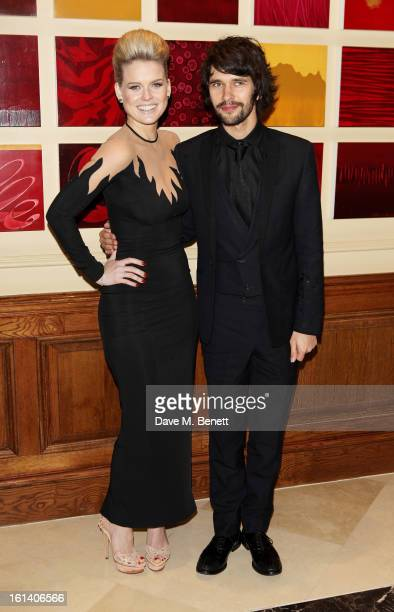 Alice Eve and Ben Whishaw arrive at the after party following the EE British Academy Film Awards at Grosvenor House on February 10 2013 in London...