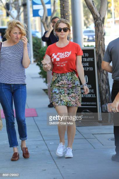 Alice Eve and Mamie Gummer are seen on October 5 2017 in Los Angeles California