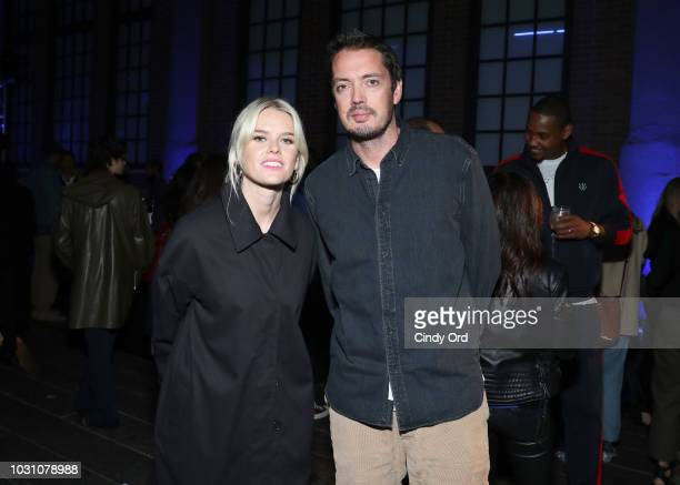 Alice Eve and Marcus Wainwright attend the screening of the rag bone film Time Of Day at The High Line on September 10 2018 in New York City