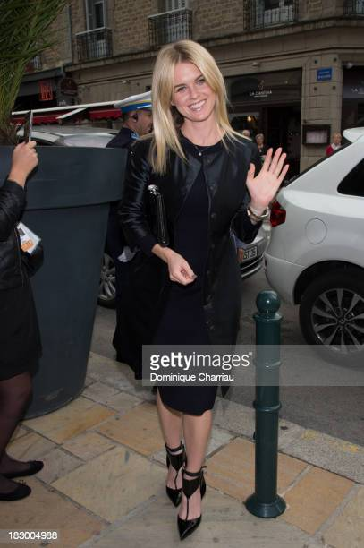 Alice Eve arrives at the 24th Dinard British Film Festival Opening Ceremony on October 3 2013 in Dinard France