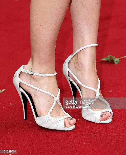 Alice Eve arrives at the UK premiere of Sex And The City 2 at Odeon Leicester Square on May 27 2010 in London England