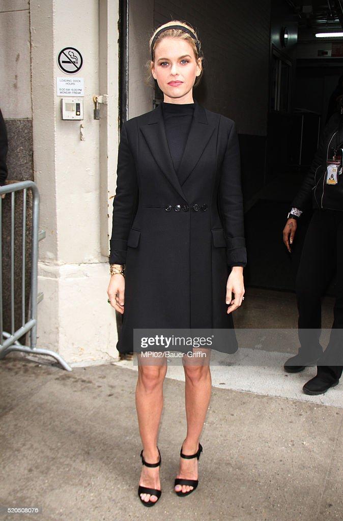 Celebrity Sightings In New York - April 11, 2016 : News Photo