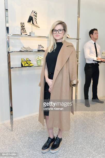 Alice Eve attends Barneys New York Katherine Ross Alexia Niedzielski Celebrate Fabrizio Viti at Barneys New York Beverly Hills on February 23 2017 in...