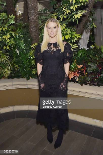 Alice Eve attends ELLE's 25th Annual Women In Hollywood Celebration presented by L'Oreal Paris Hearts On Fire and CALVIN KLEIN at Four Seasons Hotel...