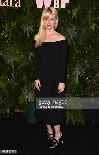 Alice Eve attends Max Mara Women In Film Face of the Future at Chateau Marmont on June 12 2018 in Los Angeles California