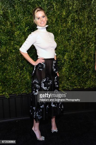 Alice Eve attends the 2017 Tribeca Film Festival Chanel Artists Dinner on April 24 2017 in New York City