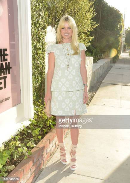 Alice Eve attends the Beats By Dre for Violet Grey party on July 11 2018 in West Hollywood California