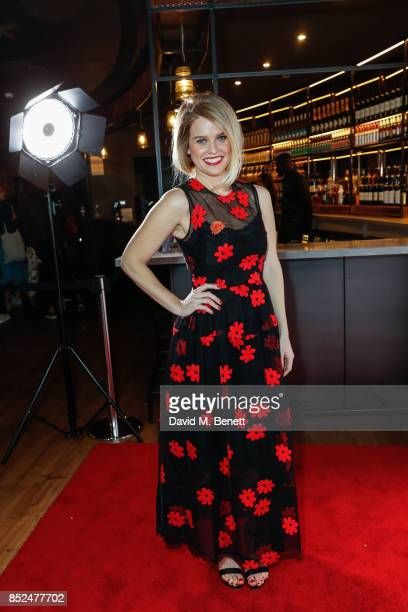 Alice Eve attends the Bees Make Honey official screening during the Raindance Film Festival at the Vue West End on September 23 2017 in London England