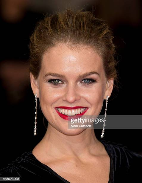 Alice Eve attends the EE British Academy Film Awards at The Royal Opera House on February 8 2015 in London England