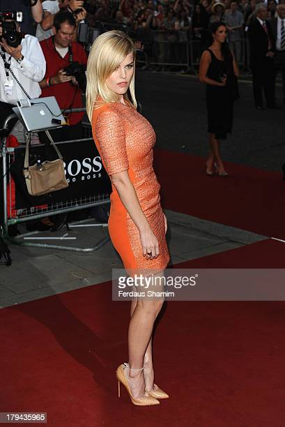 Alice Eve attends the GQ Men of the Year awards at The Royal Opera House on September 3 2013 in London England