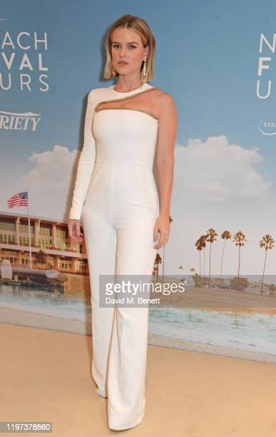 Alice Eve attends the Newport Beach Film Festival 6th Annual UK Honours at The Langham Hotel on January 29 2020 in London England