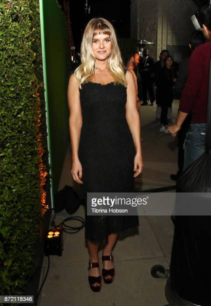 Alice Eve attends the premiere of Focus Features 'Darkest Hour' after party on November 8 2017 in Beverly Hills California