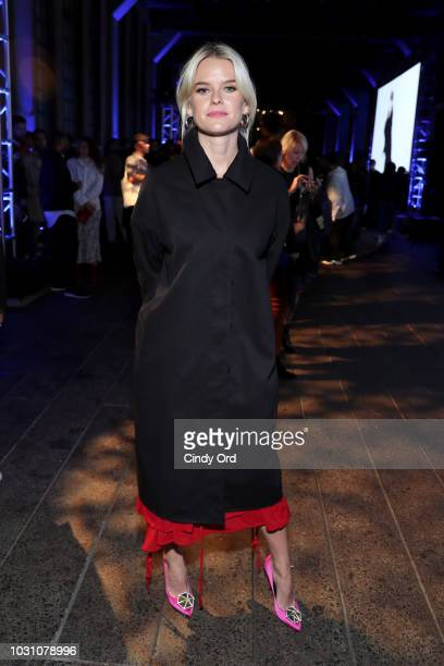 Alice Eve attends the screening of the rag bone film Time Of Day at The High Line on September 10 2018 in New York City
