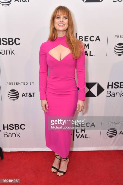 Alice Eve attends the screening of Untogether during the 2018 Tribeca Film Festival at SVA Theatre on April 23 2018 in New York City