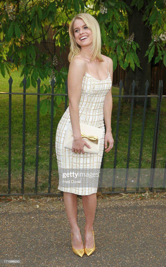 Alice Eve attends The Serpentine Gallery Summer Party at The Serpentine Gallery on June 26, 2013 in London, England.