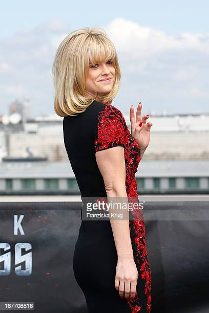 Alice Eve attends the 'Star Trek Into Darkness' Photocall at China Club on April 28 2013 in Berlin Germany