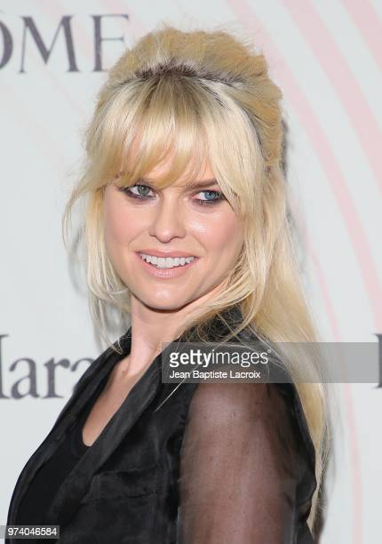 Alice Eve attends the Women In Film 2018 Crystal Lucy Awards at The Beverly Hilton Hotel on June 13 2018 in Beverly Hills California