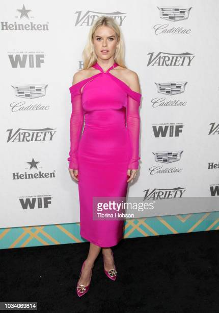 Alice Eve attends Variety and Women In Film's 2018 PreEmmy Celebration at Cecconi's on September 15 2018 in West Hollywood California