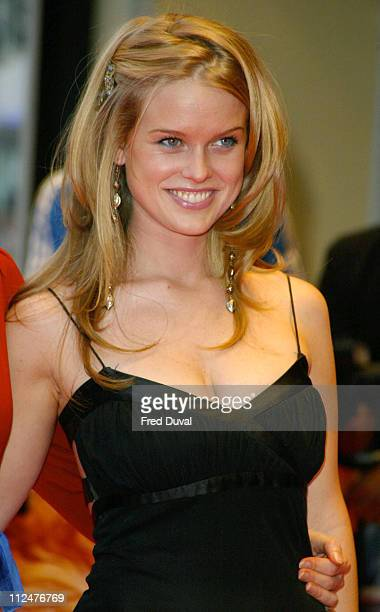Alice Eve during Stage Beauty London Premiere Arrivals at Odeon Westend Leicester Square in London England United Kingdom