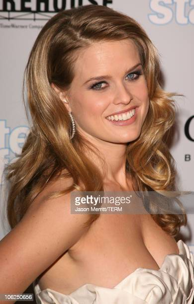 Alice Eve during Starter For 10 Los Angeles Premiere Arrivals at ArcLight Hollywood in Hollywood California United States