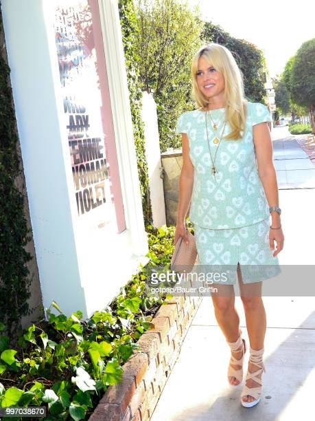 Alice Eve is seen on July 11 2018 in Los Angeles California
