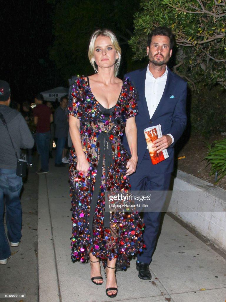 Celebrity Sightings In Los Angeles - October 09, 2018 : News Photo