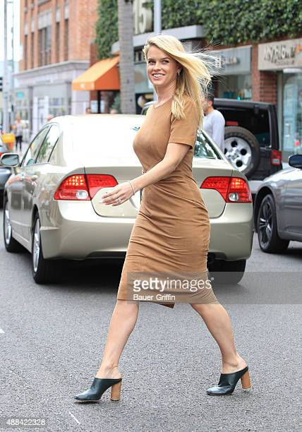 Alice Eve is seen on September 15 2015 in Los Angeles California