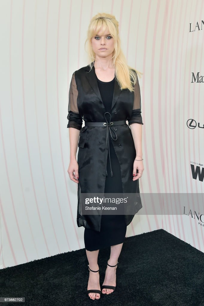 Women In Film 2018 Crystal + Lucy Awards Presented By Max Mara, Lancôme And Lexus - Red Carpet : News Photo