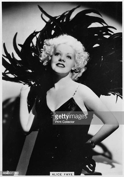 Alice Faye American actress and singer c1938 Born Alice Jeane Leppert Alice Faye was a leading Hollywood star in the late 1930s and early 1940s until...