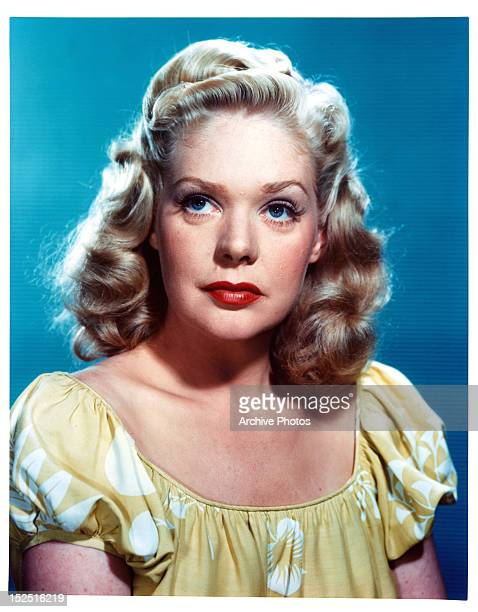 Alice Faye publicity portrait for the film 'Fallen Angel' 1945