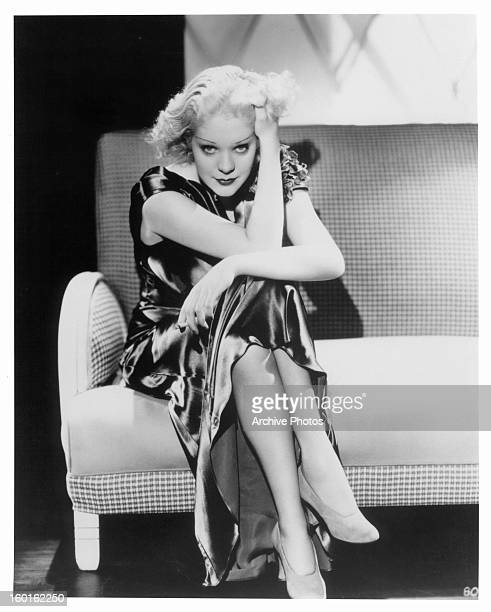 Alice Faye publicity portrait for the film 'Poor Little Rich Girl' 1936