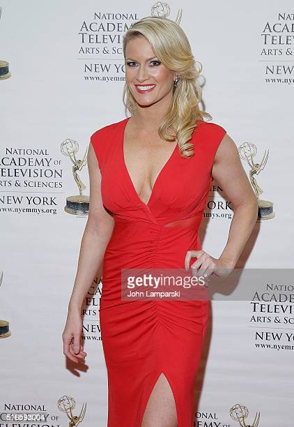 Alice Gainer attends 59th Annual New York Emmy Awards at Marriott Marquis Times Square on March 19 2016 in New York City