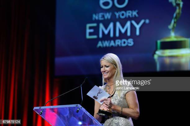 Alice Gainer attends 60th Anniversary New York Emmy Awards Gala at Marriott Marquis Times Square on May 6 2017 in New York City