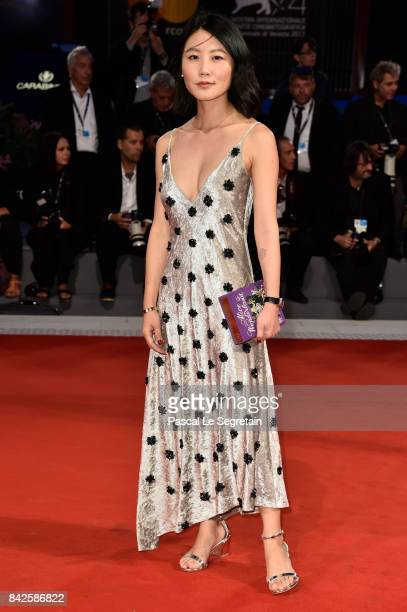 Alice Gao walks the red carpet ahead of the 'Three Billboards Outside Ebbing Missouri' screening during the 74th Venice Film Festival at Sala Grande...