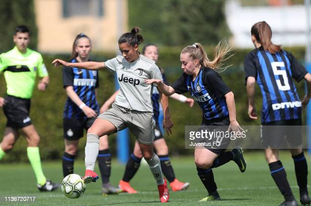 Alice Giai of Juventus Women U19 in action during the Serie A Primavera Final Four match between Juventus U19 Women and FC Internazionale U19 Women...