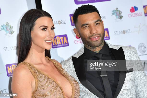 Alice Goodwin and Jermaine Pennant attend the National Reality TV Awards held at Porchester Hall on September 25 2018 in London England