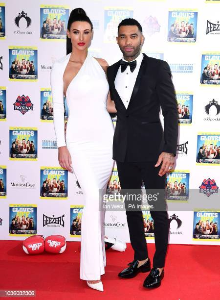 Alice Goodwin and Jermaine Pennant attending the premiere of Gloves Off at The Prince Charles Cinema London