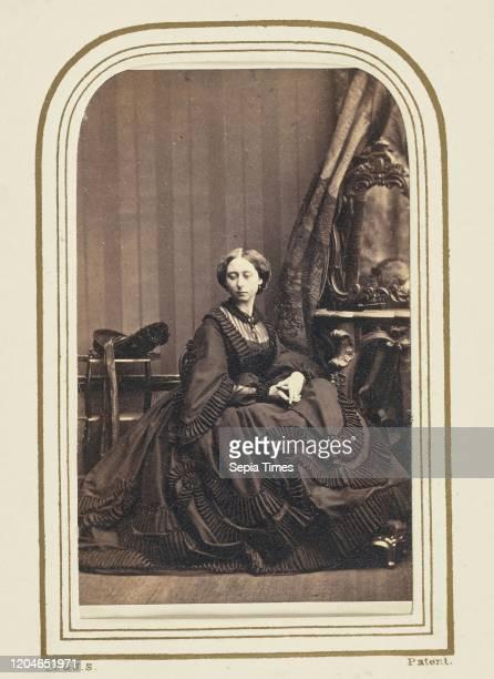 Alice , Grand Duchess of Hesse, Camille Silvy , France, June 27 Albumen silver print, 11.4 _ 6.4 cm .