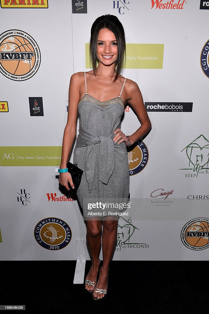 Alice Gretchen joined President Bill Clinton and Kobe Bryant at the grand opening of STEP UP ON VINE on January 14, 2013 in Los Angeles, California.