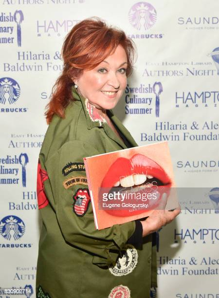 Alice Harris attends Authors Night 2017 At The East Hampton Library at The East Hampton Library on August 12 2017 in East Hampton New York