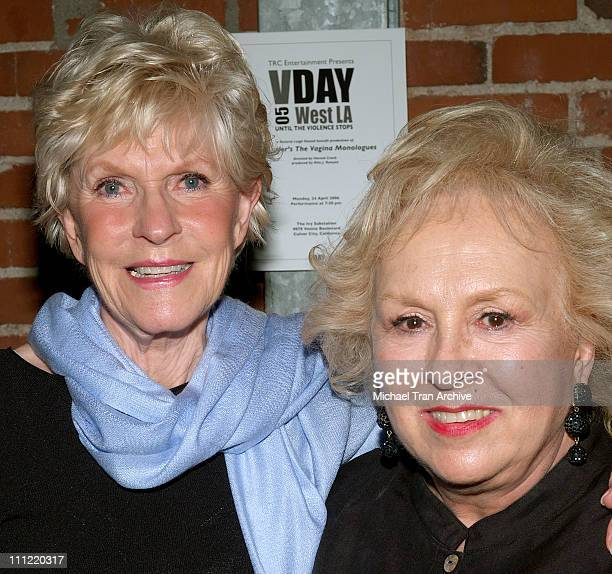 Alice Hirson and Doris Roberts during VDay West LA 2006 Benefit Production of Eve Ensler's 'The Vagina Monologues' Show and After Party at The Actors...