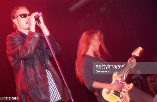 Alice In Chains Layne Staley Jerry Cantrell Vooruit Gent Belgium 22nd February 1993