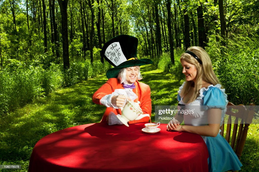 Alice in Wonderland : Stock Photo