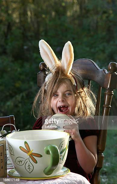 Alice in Wonderland-Tea-Party