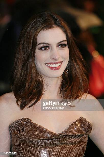 Alice in Wonderland world premiere In London United Kingdom On February 25 2010Actress Anna Hathaway attends World Premiere of 'Alice in Wonderland'...