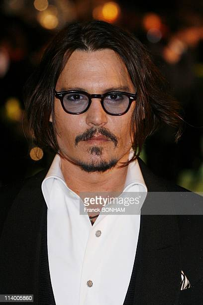 Alice in Wonderland world premiere In London United Kingdom On February 25 2010Johnny Deep attends World Premiere of 'Alice in Wonderland' at the...