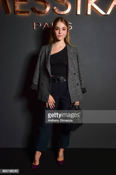 Alice Isaaz attends Messika cocktail as part of the Paris Fashion Week Womenswear Spring/Summer 2018 on September 27 2017 in Paris France