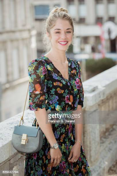 Alice Isaaz attends the 10th Angouleme FrenchSpeaking Film Festival on August 26 2017 in Angouleme France